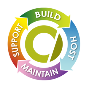 We support, build, host and maintain your website